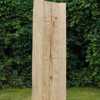 Abspaltung - gespaltene Pappel - 2011 - 143 x 41 x 41 cm