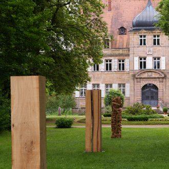 Drei halbe Kubikmeter Wald Variation I - Eiche Standort Schloss Dürrenmungenau - 2010