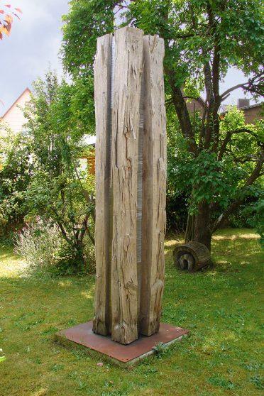 Symposium Abenberg 2011 - Skulptur Kreuzbalken