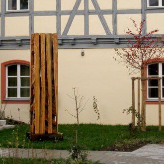 Ein Kubikmeter Wald I - Lärche - 2008 - 262 x 62 x 62 cm - Amt für Landwirtschaft und Forsten Roth