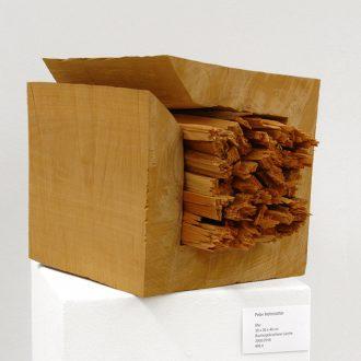 Ster - Buche/ gebrochene Lärche - 2005/2016 - 30x30x40 cm
