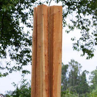 Twist, Spring, Bow - Lärche - 2010 - Ausstellung Schloss Dürrenmungenau
