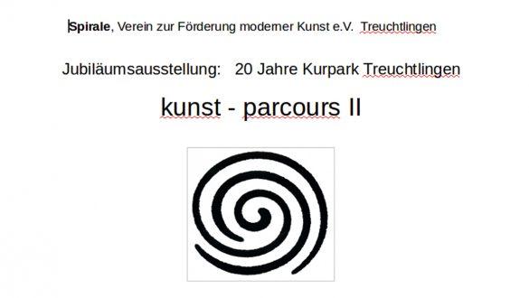 kunst - parcours im Kurpark Treuchtlingen