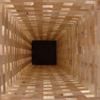5 Kuben -Detailansicht Innenbereich